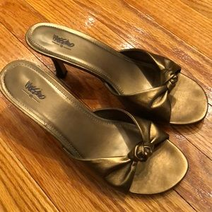 Mossimo low slip on heels